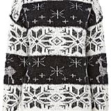 The Christmas jumper (£25) is a bit easier to bear when it's soft, fluffy and surprisingly subtle!