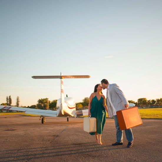 Airport Engagement Shoot