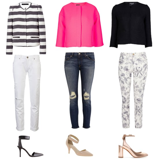 How to Wear a Cropped Jacket | Spring 2013