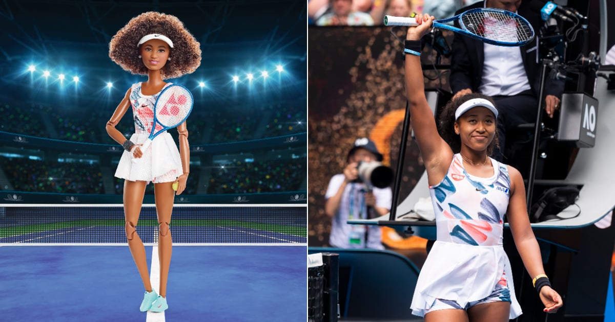 Naomi Osaka Is Getting the Barbie Treatment, and Her Doll Is Ready to Serve Some Game
