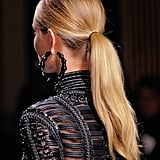 The Ponytail: Balmain