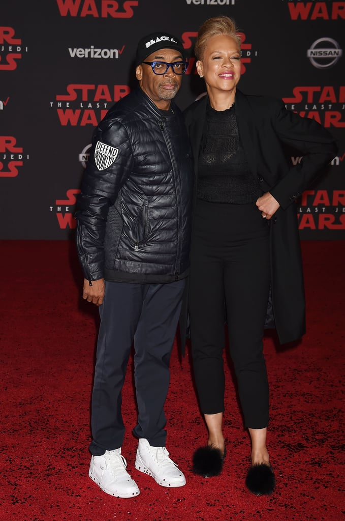 Pictured Spike Lee and Tonya Lewis Lee  sc 1 st  Popsugar & Pictured: Spike Lee and Tonya Lewis Lee   Celebrities at Star Wars ...