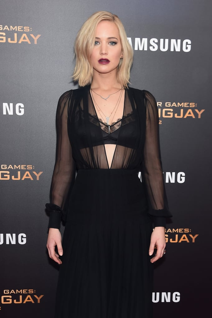 It's been a busy month for Jennifer Lawrence, Liam Hemsworth, and Josh Hutcherson! The The Hunger Games: Mockingjay — Part 2 cast, who paid homage to the Paris attack victims at their LA premiere on Monday, returned to the red carpet for the NYC premiere of their film on Wednesday. Liam got playful with Josh and shared some laughs for the cameras, while Jennifer also kept things fun and even stopped to take a shot with the press.  Jennifer, Josh, and Liam have been hamming it up while promoting their movie. Earlier this month, the cast was thick as thieves while making press rounds in Berlin, and Jennifer looked hot enough to start a rebellion when she touched down in London. Read on for more photos from the big night, and see how the dynamic trio has changed over the years.