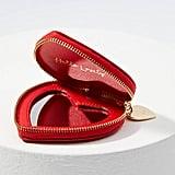 Loft Heart Zip Mirror Compact
