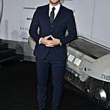 Chris Pratt and Anna Faris at LA Premiere of Passengers