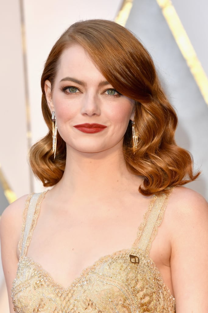 Emma Stone Oscars 2017 Hair And Makeup On The Red Carpet