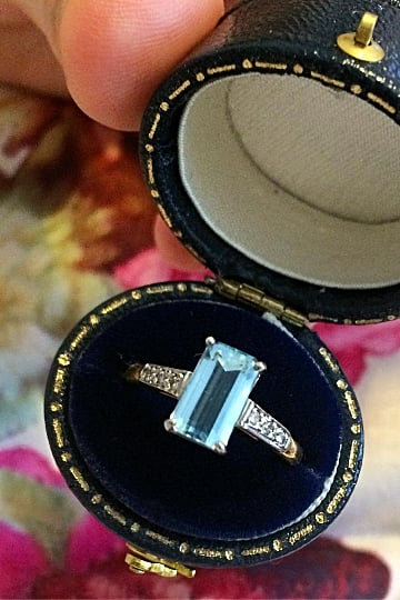 Colored Engagement Rings