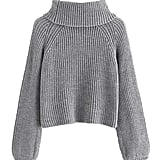 MilumiaCrop Turtleneck Sweater