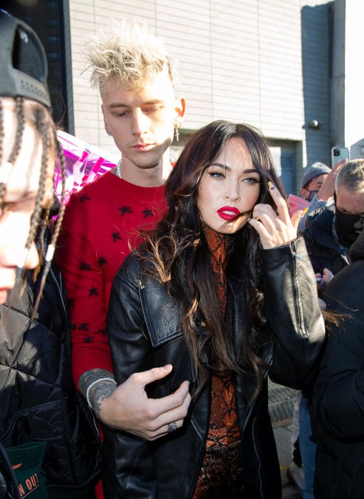 Megan Fox and Machine Gun Kelly Cute Pictures
