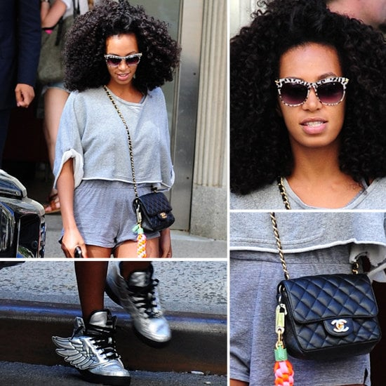 Solange Knowles in Nike