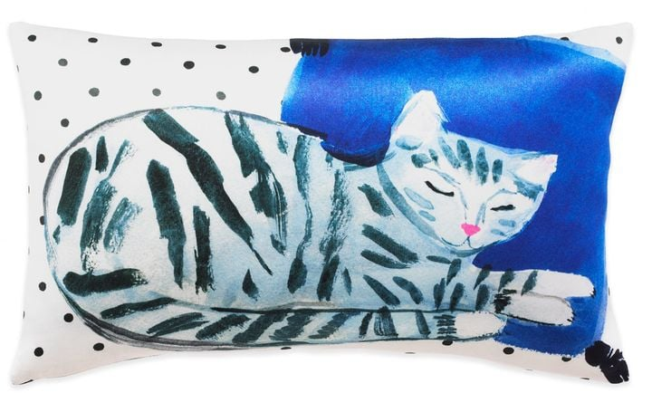 Oblong Throw Pillow ($90)