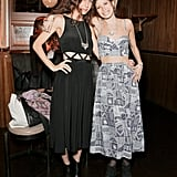 Mara Hoffman and Pamela Love at a party celebrating Love's nomination for the CFDA's Swarovski Award for Accessory Design in New York. Source: Benjamin Lozovsky/BFAnyc.com
