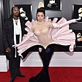 Cardi B at the 2019 Grammys