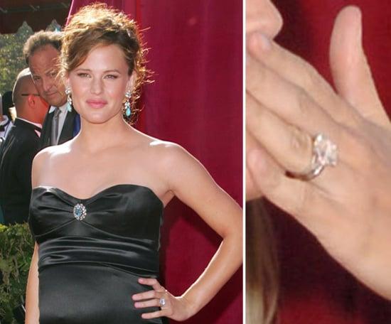 Jennifer Garner Celebrity Engagement Ring Pictures