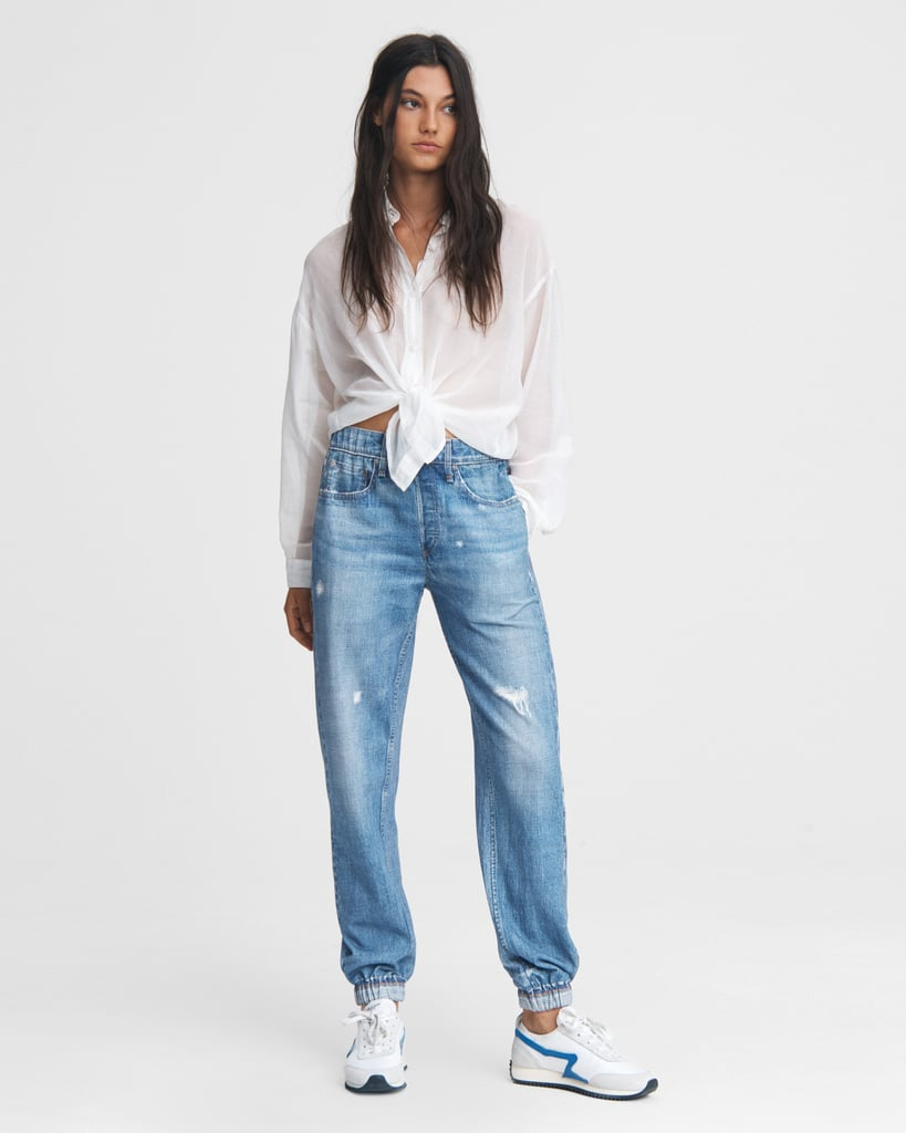 Fall 2020 Denim Trend: Sweatpant Jeans