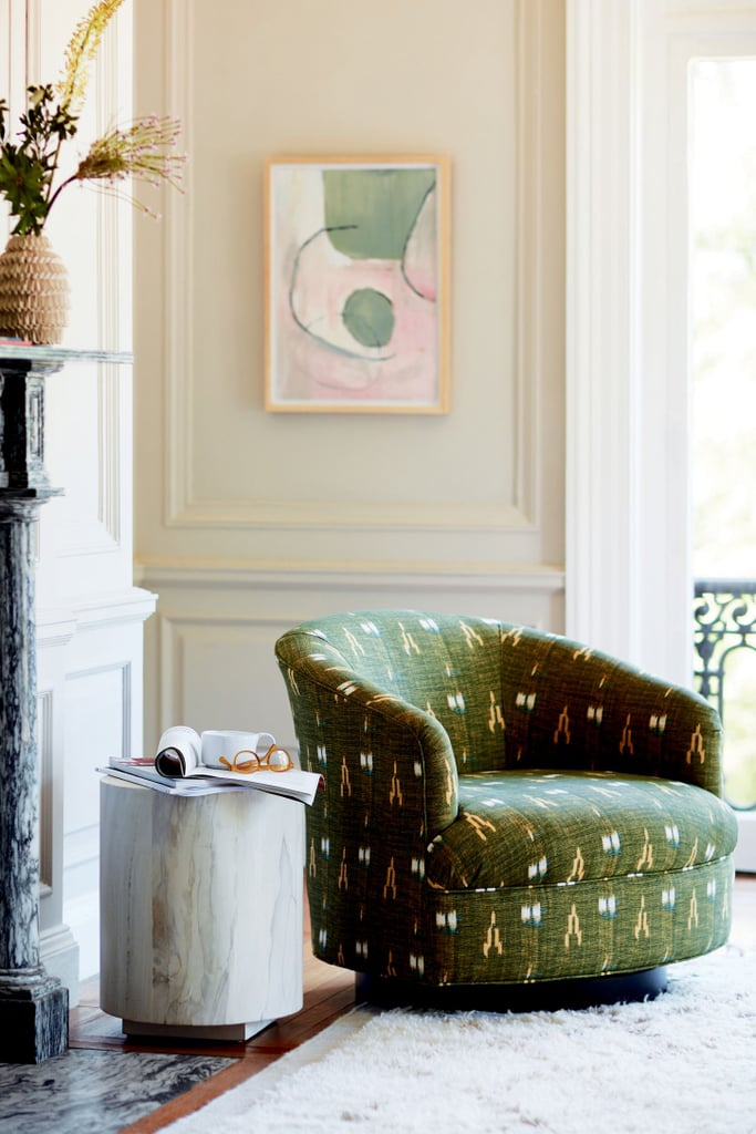 Soho Home x Anthropologie Amoret Swivel Chair