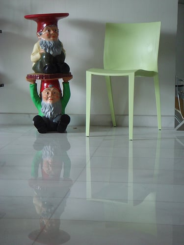 Guess Who Designed This Gnome Stool?
