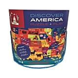 Crocodile Creek Discover America Giant Map Puzzle