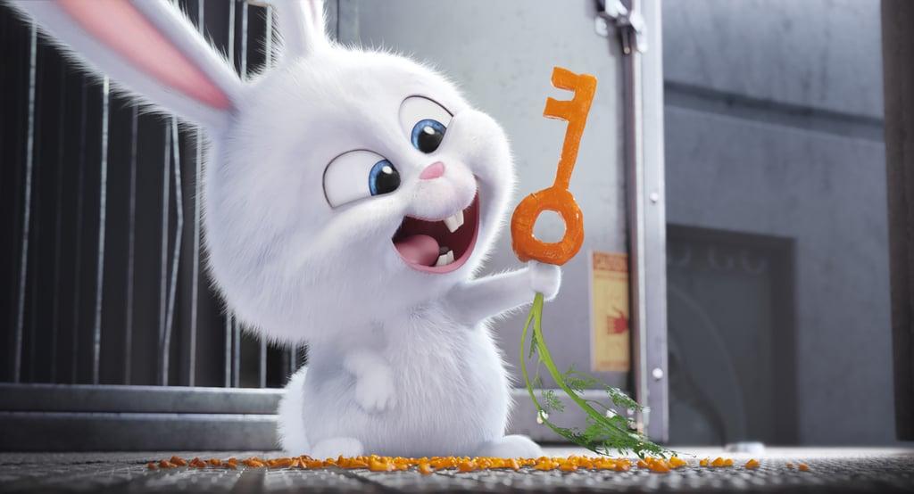 Kevin Hart's voice belongs to the main villain — a tiny, fluffy bunny.