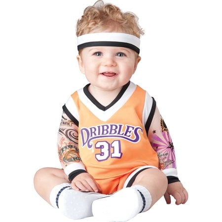 Infant Double Dribble Basketball Player Costume