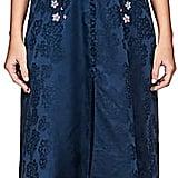 Saloni Women's Lea Floral-Embroidered Silk Dress
