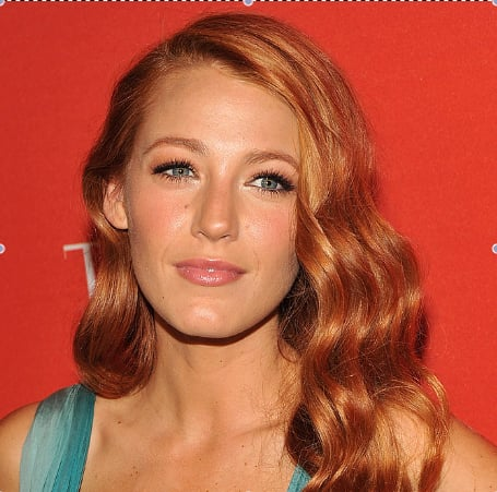 Blake Lively Dyes Her Hair Red