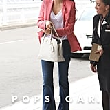 Miranda Kerr Breezes Out of Australia Ahead of Her Big Birthday