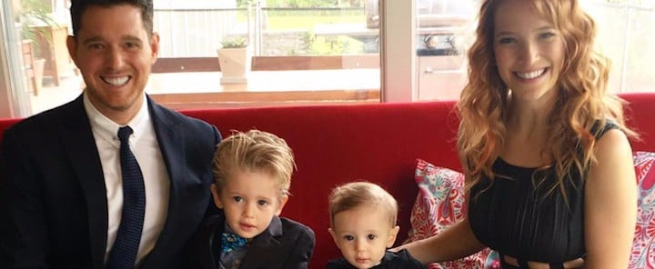 Michael Bublé and Luisana Lopilato's Son and Family Love