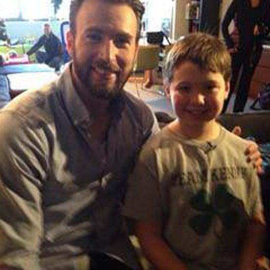 Chris Evans Visits Sick Kids in Boston | Video