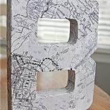 Papier-Maché Monogram