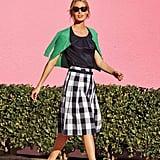 Boden Gingham Full Skirt