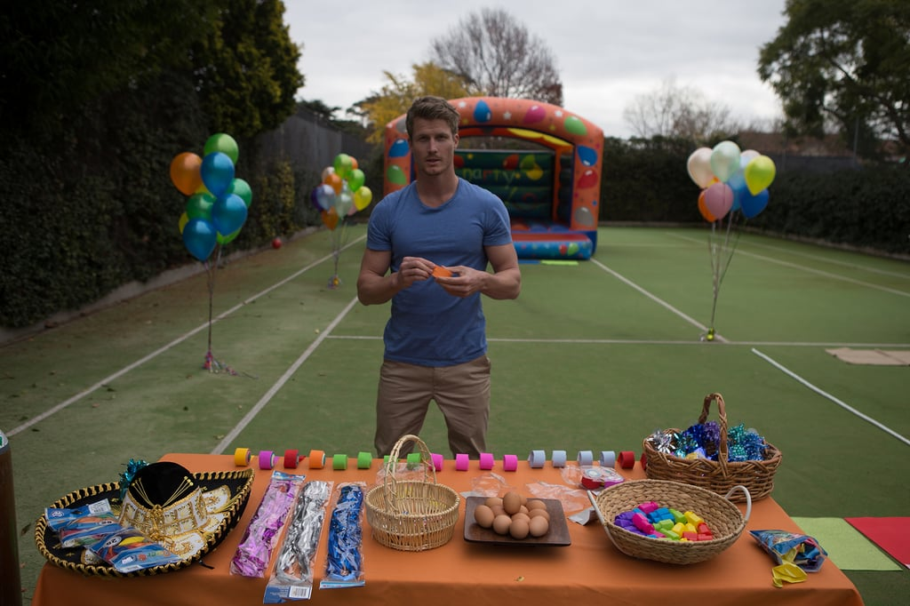 This is how he'll look at your future children's birthday parties.