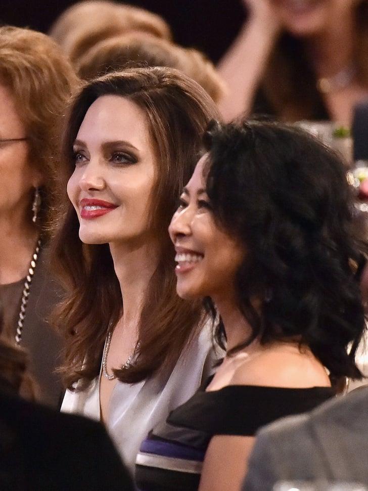 Angelina Jolie At Hollywood Film Awards 2017 Popsugar