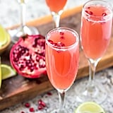 Mexican Pomegranate Mimosas