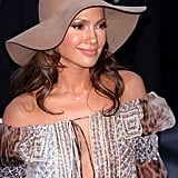 Jennifer, pictured here at the 2001 MTV Video Music Awards, helped make floppy hats a thing.