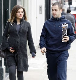 Photos of Joe Cole and Carly Zucker's Baby Girl Daughter Pictures