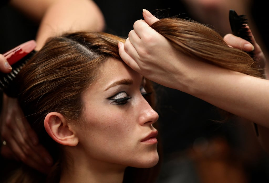 Photos of Hair from Nicola Finetti's Show at RAFW 2010