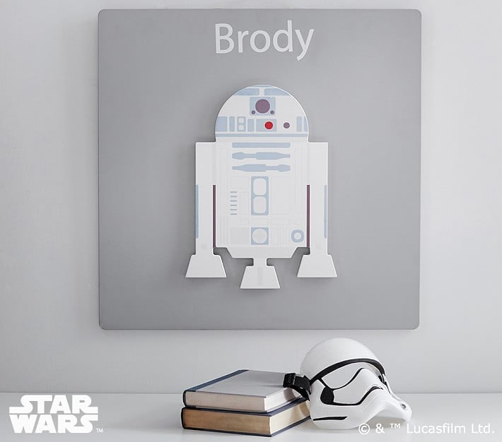 Star Wars R2-D2 Personalized Plaque