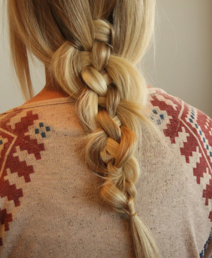 The Messy 5-Strand Braid Will Be Your Next Style Obsession