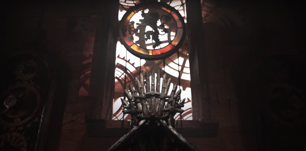 Game of Thrones Intro Season 8-The Iron Throne