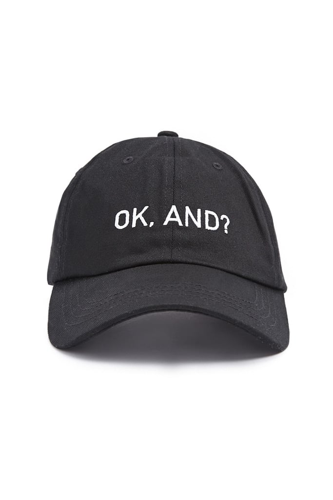 Ok Embroidered Dad Cap