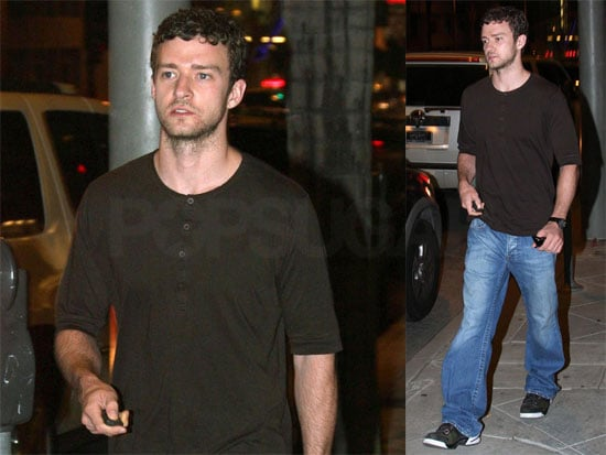 Photos of Justin Timberlake Out to Dinner in LA