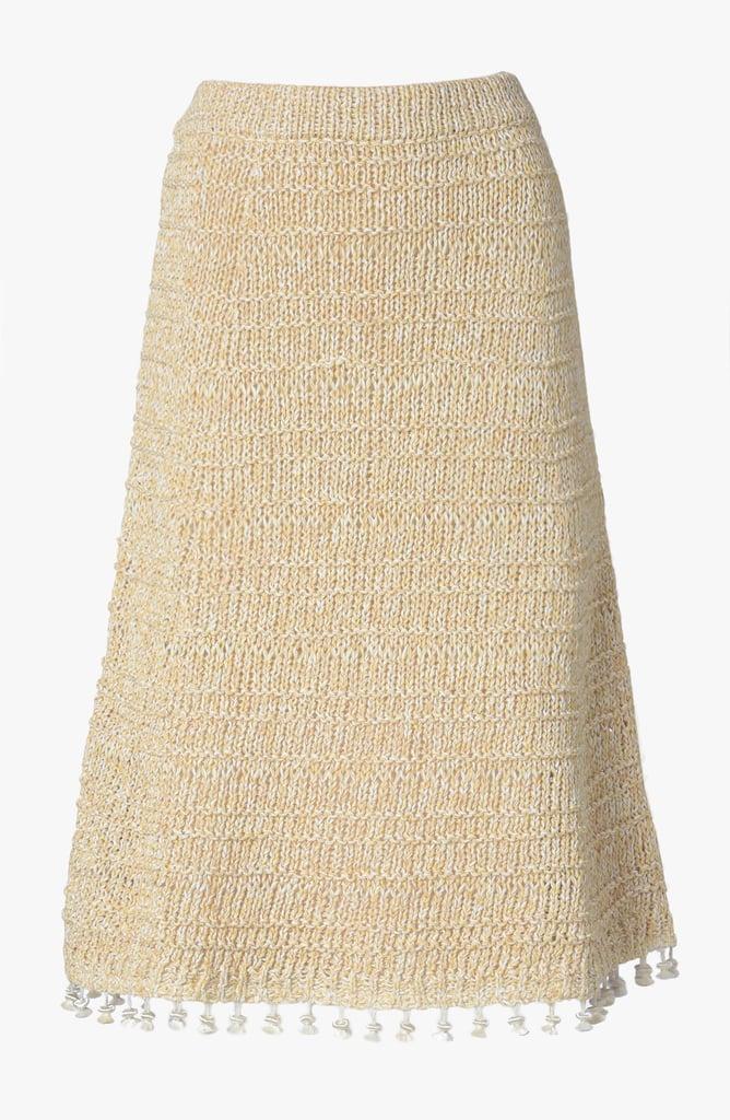 Derek Lam A-Line Skirt With Tassels ($950)