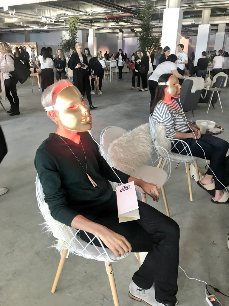 The LED Light Facial