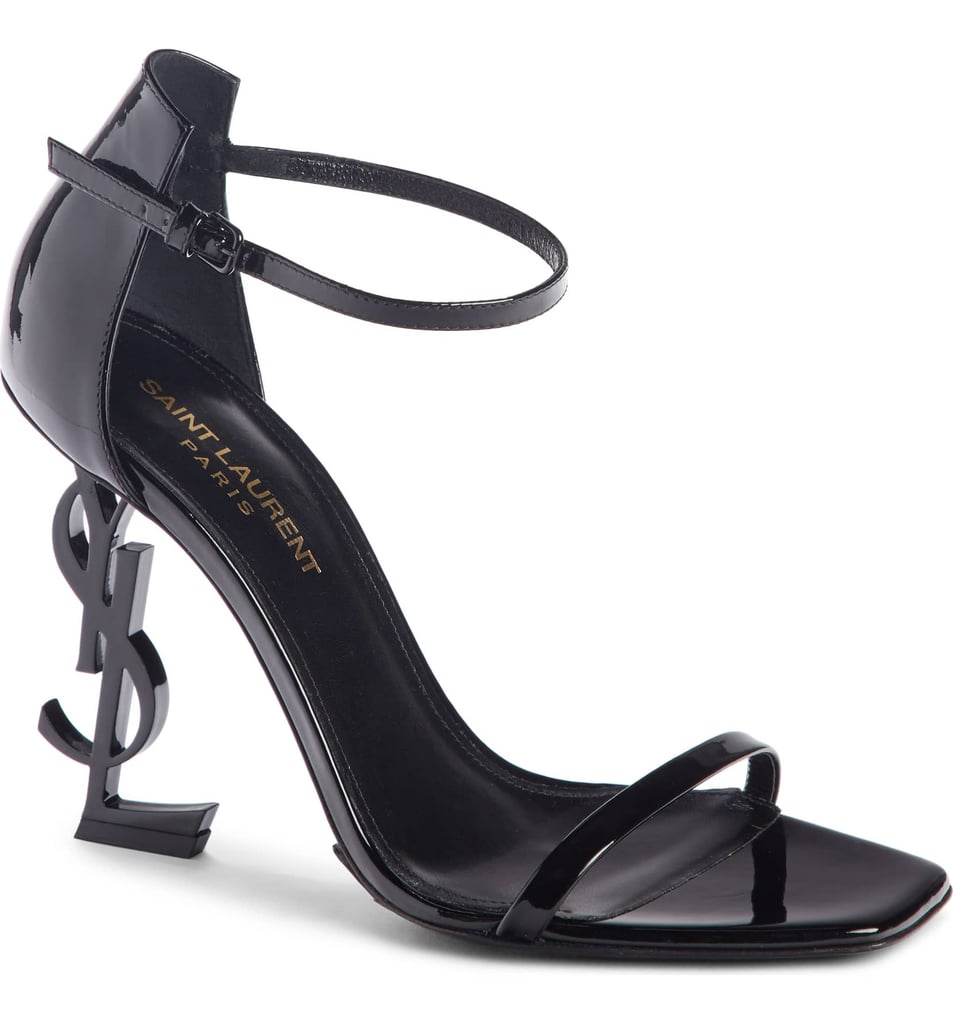 Saint Laurent Opyum YSL Ankle Strap Sandals
