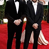 Ryan Gosling Poses For Golden Globes Photos With His Blue Valentine Director