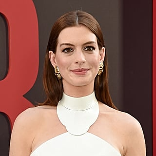 Anne Hathaway Kneels to Talk to Her Son Like Kate Middleton