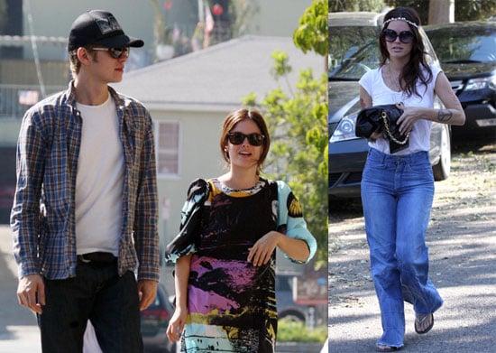 Photos of Rachel Bilson and Hayden Christensen Out in LA