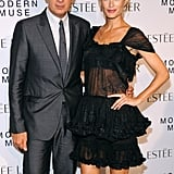 Stefano Tonchi and Carolyn Murphy teamed up for the Estée Lauder bash.