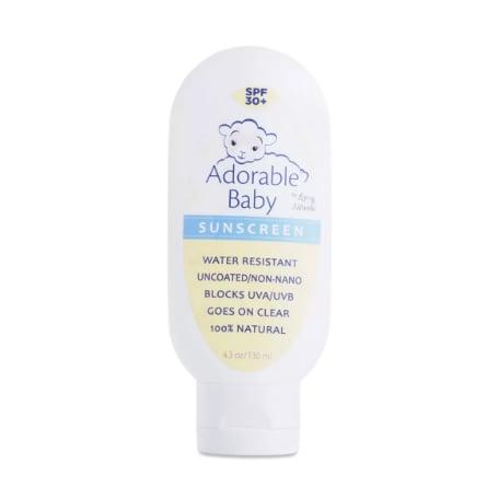 Adorable Baby Sunscreen Lotion, SPF 30+